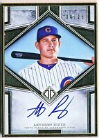 2019 Topps Transcendent Anthony Rizzo Autograph (04/25) Gold Frame! Possible 10!