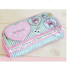 Sanrio Original My Melody Makeup Cosmetic Pouch Bag with Mirror Pen Case GKMM015