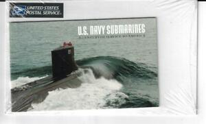 US SCOTT 3373 - 3377a 10 US NAVY SUBMARINES STAMPS $9.80 FACE MNH