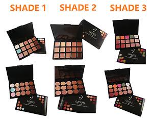 New 15 Colour Concealer Foundation Palette Face Makeup Contour Cream with Brush