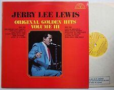 Jerry Lee Lewis Orig. Golden Hits Vol. III UK 1972 Sun LP