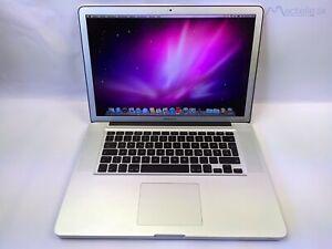 "✅  15,4"" Apple MacBook Pro A1286 2,53GHz 4GB RAM 250GB GeForce 9400M"