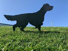 More details for setter metal dog rusty garden art