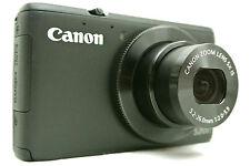 Canon Powershot S200 Point & Shoot digital camera *black *superb *tested