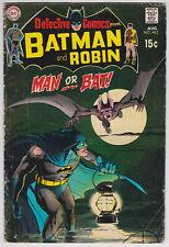Detective Comics #402 G-VG 3.0 Batman Robin Man-Bat Neal Adams Art!