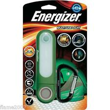 Energizer usos múltiples luz resistente a la intemperie LED antorcha 51 Lumens 360 ° + Mosquetón