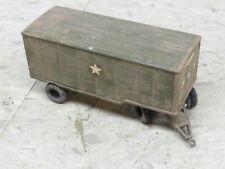 Roco Minitanks Pro Painted WWII M-119 6T Closed Van Cargo Trailer Lot #2584B