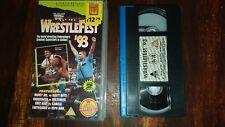 *****WWF WRESTLEFEST 1993 VHS+ SMACK DOWN 70 WRESTLING CARDS****