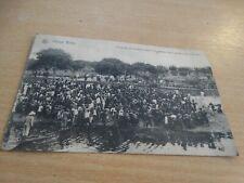 carte postale - congo belge