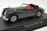 Norev 1/43 Scale Model Car 270032 - Jaguar XK140 Cabriolet - Grey