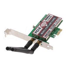 Dual Band 300M LAN Desktop Wifi Wireless PCI-e PCI Express Card Wlan Adapter 1pc