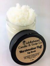 Marshmallow Fluff Lip Scrub| Edible Sugar Lip Scrub| Lip Polish