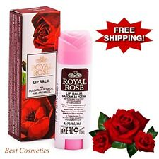 Lip Balm Royal Rose Stick Bulgarian Rose & Argan Oil Shea & Cocoa Butter 5 ml