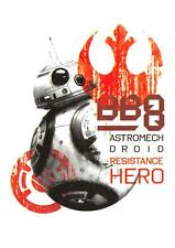 Star Wars Last Jedi 2017 RESIST! Trading Card Insert R-5 / BB-8 RESISTANCE HERO