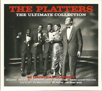 THE PLATTERS THE ULTIMATE COLLECTION - 3 CD BOX SET - 60 ORIGINAL CLASSICS
