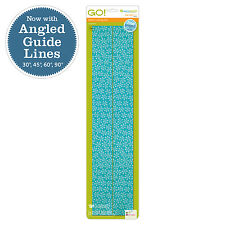AccuQuilt GO! Baby Fabric Cutting Dies-2-1/2 Strip On 6X24 Die 55014