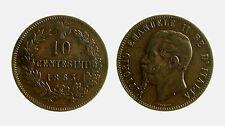 pcc2030_2) Vittorio Emanuele II (1861-1878) 10 Centesimi 1863 PARIGI