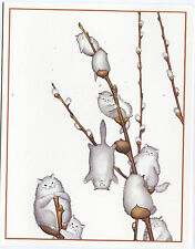 CAT KITTEN Themed Greeting Cards - Set of 24 Cards (2 x 12 images) All Occasion
