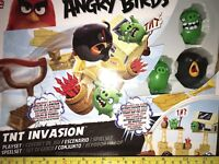 ANGRY BIRDS - TNT INVASION ACTION PLAYSET - NEW/SEALED - AWESOME ACCESSORIES