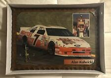 #7 ALAN KULWICKI HOOTER'S '92CHAMPION 12X18 LIMITED EDITION HANDMADE WALL CLOCK
