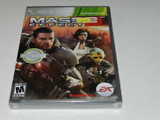 Mass Effect 2 Microsoft Xbox 360 Video Game New Sealed