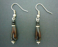 African Fairtrade Craft Jewellery Gift - JEWELLERY Bead Droplet Earrings