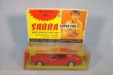 SABRA CRAGSTAN 8106 FORD MUSTANG RED VN MINT BOXED RARE SELTEN!