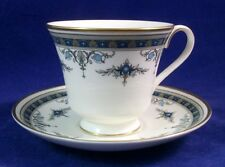Minton GRASMERE BLUE Cup & Saucer Set Bone China GREAT CONDITION
