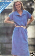 Vintage Butterick Pattern Dress 8 10 12 6942 SEWING SEW