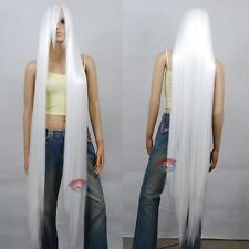 NEW 150cm Extra Long White Cosplay Wig - 60 inch High Temp - CosplayDNA Wigs