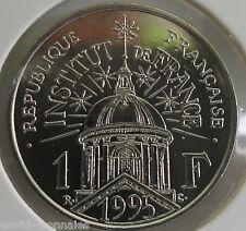 1 franc institut 1995 : SPL : pièce de monnaie française