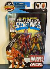 Marvel Universe 2009 Secret Wars Comic Packs #2 - Wolverine & Human Torch