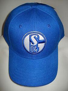 Basecap Schalke 04 NEUHEIT mit Logo Fussball Fanartikel