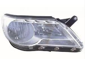 RH Headlight suits Volkswagen Tiguan 5/08-5/2011