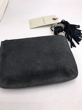 $39 Lucky Brand small pouch clutch beaded hassle  gray   BUP 94