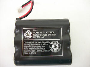 GE 36416 Re-Chargeable Home Phone Battery