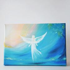 """Engel Bild Leinwanddruck """"Glaub an Deine Träume"""" Druck auf Leinwand Engelbild"""