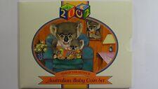 2002 Royal Australian Mint Koala Baby Uncirculated Coin Set