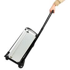 Portable Mini Folding Luggage Cart Black Free shipping