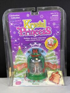 NIP Playskool Princess Krystal Holiday Celebration Collection Dome 1992