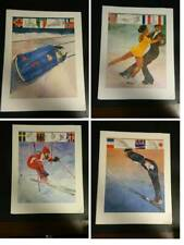 Vintage Bart Forbes 1980 Olympic Print Collection Proctor & Gamble Set of 4 Exc