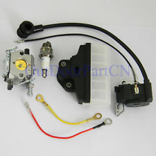 FITS Stihl 023 025 230 250 walbro Carburetor Ignition Coil Air Filter Spark Plug