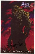 Dallas Comic Con 2005 Program Book Signed Wrightson Bradstreet O'Barr No COA VF-