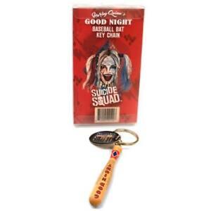 DC Comics Harley Quinn Good Night Baseballbat Suicide Squad Schlüsselanhänger