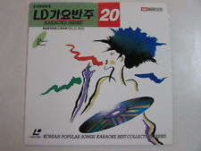 KOREAN POPULAR SONGS BEST COLLECTION SERIES LASER DISC SKLD-7020 MADE IN KOREA