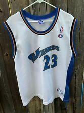 Vintage 1990s Michael Jordan #23 Washington Wizards White Champion Jersey Medium