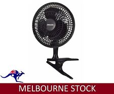Heller HCLIP15 15cm Desk Fan - Black