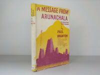 A Message From Arunachala Paul Brunton c1943 ID844