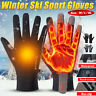 Motorcycle Bike Outdoor Sport Touch Screen Warm Thermal Gloves Waterproof Winter