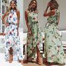 Evening Party Beach Dresses Sundress Women  Asymmetric Maxi Dress Beach Sundress